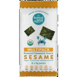 Photo of Honest Sea Seaweed Snack Sesame 6pk