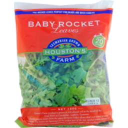 Photo of Houston Farm Baby Rocket Leaves 120g