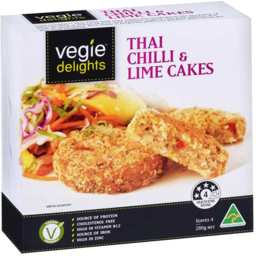 Photo of Vegie Delights Thai Chilli & Lime Cakes 280gm