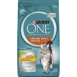 Photo of Purina One Urinary Tract Health 1+ Years Cat Food With Chicken 1.5kg
