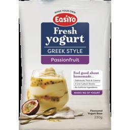 Photo of Easiyo Greek Style Yogurt Base Passionfruit 230g