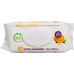 Photo of Spring Fresh Wipes Cleaning Orange 80 Pack
