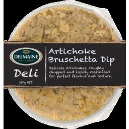 Photo of Delmaine Dip Artichoke Brushetta 210g