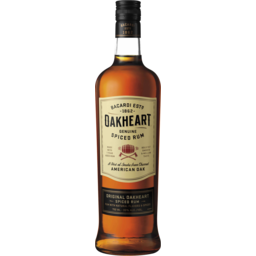Photo of Bacardi Oakheart Spiced Rum