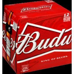 Photo of Budweiser Lager 330ml Bottles 12 Pack