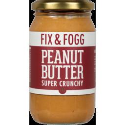 Photo of Fix And Fogg Super Crunchy Ppeanut Butter 375g