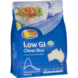 Photo of SunRice Clever Low GI White Rice 750gm