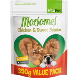 Photo of Vitapet Morsomes Dog Treats Chicken & Sweet Potato Biscuit 350g