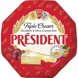 Photo of President Triple Cream Brie 145g