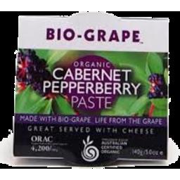 Photo of Bio Grape - Cabernet & Pepperberry Paste - 140g