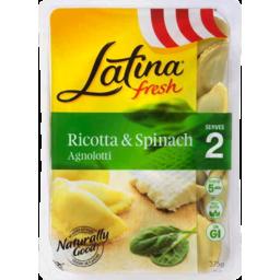 Photo of Latina Fresh Agnolotti Ricotta & Spinach 375gm