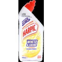 Photo of Harpic White & Shine Ultimate Bleach Power Citrus 450ml