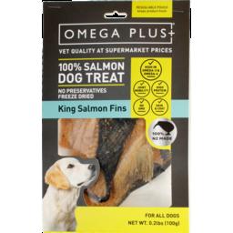Photo of Omega Plus Dog Treat King Salmon Fins 100g