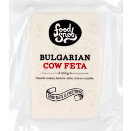 Photo of Food Snob Cheese Bulgarian Cow Feta 200g