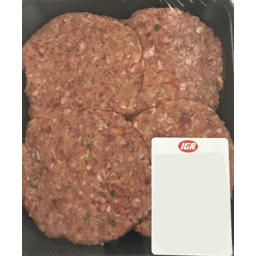 Photo of Beef & Vegetables Patties (trayed)
