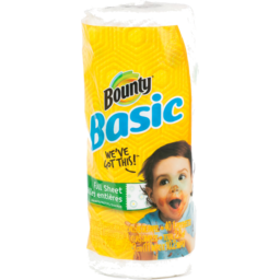 Photo of Bounty Basic Paper Towel Print