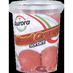 Photo of Aurora Blood Orange Sorbet 500ml