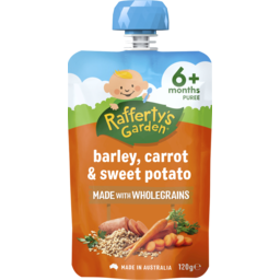 Photo of Rafferty's Garden Barley, Carrot & Sweet Potato 120g