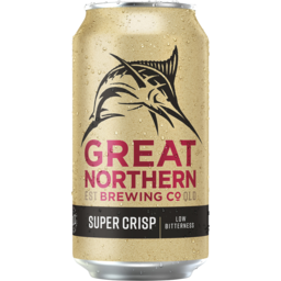 Photo of Great Northern Brewing Co Super Crisp Lager Can