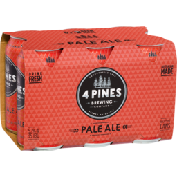Photo of 4 Pines Brew Pale Ale Can