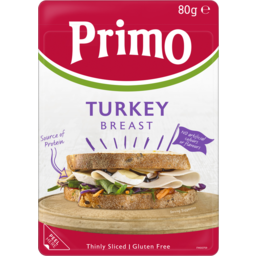 Photo of Primo Thinly Sliced Turkey Breast 80g