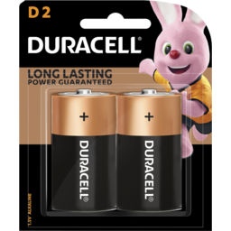 Photo of Duracell Coppertop Batteries D 2 Pack