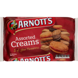 Photo of Arnott's Biscuits Assorted Creams 5 Favourites 500g
