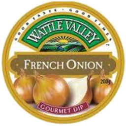 Photo of Wattle Valley Dip French Onion 200g