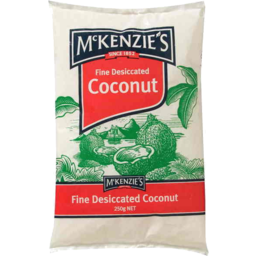 Photo of McKenzie's Fine Desiccated Coconut 250g