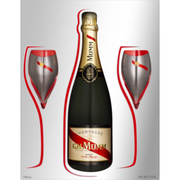 Photo of Mumm Cordon Rouge Brut Twin Flute Gift Pack