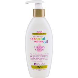 Photo of Ogx Flexible Control Frizz Defying + Coconut Miracle Oil Air Dry Cream 177ml