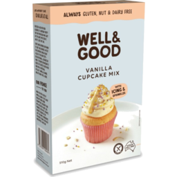 Photo of Well And Good Vanilla Cup Cake Mix 510gm