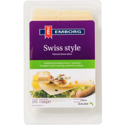 Photo of Emborg Slices Swiss 150g