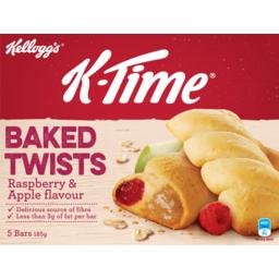 Photo of Kellogg's K-Time Twists Raspberry Apple 185g