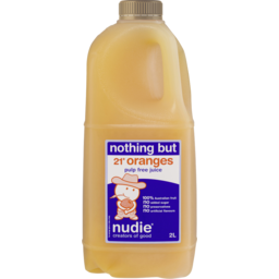 Photo of Nudie Nothing But Orange Juice Pulp Free 2l