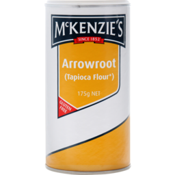 Photo of McKenzie's Gluten Free Arrowroot 175g