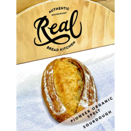 Photo of Real Bread Kitchen Bread Sourdough Pioneer Organic Spelt 750g