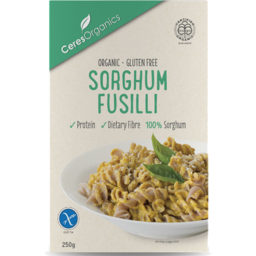 Photo of Ceres - Pasta - Gluten Free Sorghum Fusilli - 250g