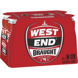 Photo of West End Draught Cans