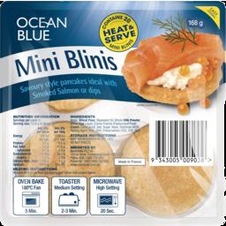 Photo of Ocean Blue Mini Blinis 168g