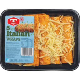 Photo of Tegel Wraps Italian 5 Pack