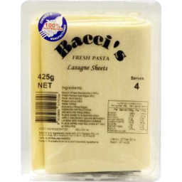 Photo of Bacci Fresh Lasagna Sheet 425gm