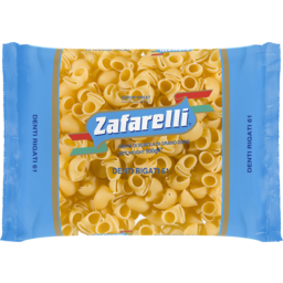 Photo of Zafarelli No 61 Denti Rigati 500g