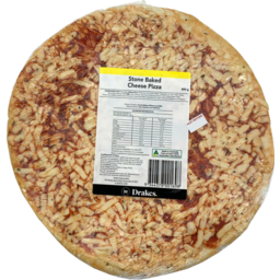Photo of Drakes Stone Baked Cheese Pizza 400g