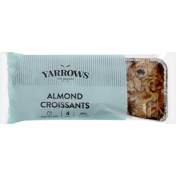 Photo of Yarrows Almond Croissants 4pk 280gm