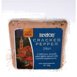Photo of Breton Pate Cracked Pepper 100g