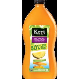 Photo of Keri Juice Tropical 50% Less Sugar 3L