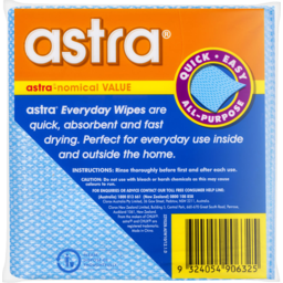 Photo of Astra Everyday Wipes 50 Pack