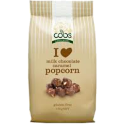 Photo of Cobs Milk Choc Carmel Popcorn 175g
