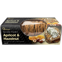 Photo of Ob Finest Apricot & Hazelnut Crackers 150g